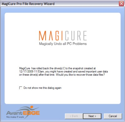 MagiCure File Recovery Wizard